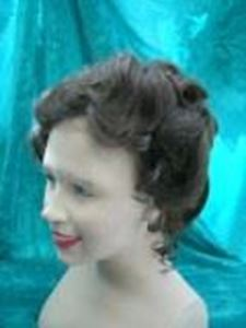 Picture of 1990s/Edwardian Wig - Front View