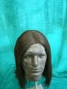 Picture of Long Loose Gent's Style Wig - Views 1 & 2