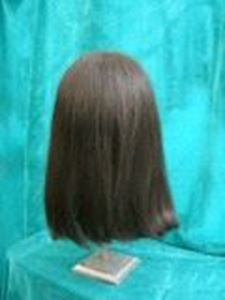 Picture of Long Loose Gent's Style Wig - View 3