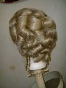 Picture of Dauphine 18th Century Wig - Court Lady