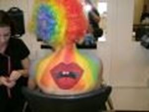 Picture of Rainbow Body Painting