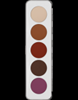 Picture of Sp. Offer Kryolan Eye Shadow Palette Matt