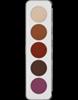 Picture of Sp. Offer Kryolan Eye Shadow Palette Matt