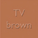 tv brown