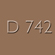 D742 - Tan