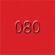 080 Dark Red