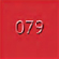 079 Bright Red