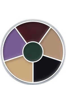 Picture of Kryolan Cream Color Circle - Black Eye 30 grm