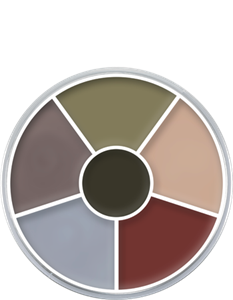 Picture of Kryolan Cream Color Circle - Death 30 grm