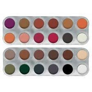 Picture of Grimas Blusher/Eyeshadow 24 colour palette