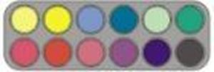 Picture of Grimas Rouge Palette 12 Colours - RA