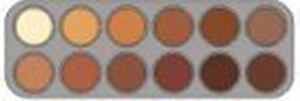 Picture of Grimas Rouge Palette 12 Colours - RH