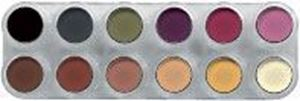 Picture of Grimas Rouge Palette 12 Colours - FM
