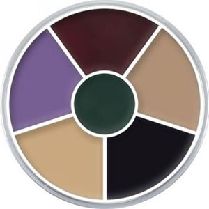 Picture of Kryolan Cream Color Circle - Black Eye 2 30 grm