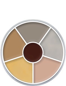 Picture of Kryolan Cream Color Circle - Corpse 2 30 grm