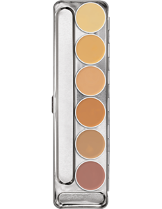 Picture of Dermacolor Camouflage Creme Palette 6 Cols H 3ml