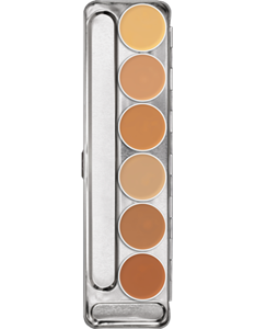 Picture of Dermacolor Camouflage Creme Palette 6 Cols M 3ml