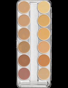 Picture of Dermacolor Creme Palette 12 colours (A) 3ml