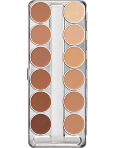 Picture of Dermacolor Creme Palette 12 colours (D) 3m