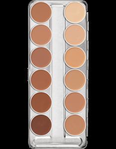 Picture of Dermacolor Creme Palette 12 Colours (D) 3ml