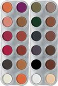 Picture of Grimas Eyeshadow/Rouge 24 Colour Palette - RB & UX