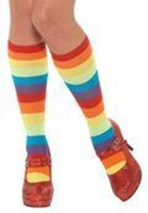 Picture of Bristol Novelty Clown Rainbow Socks